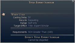 Title Expert Scholar