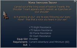 Maple Shoulder Treant
