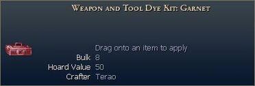 Weapon Dye Kit