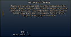 Antiquated Dagger