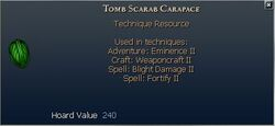 Tomb Scarab Carapace