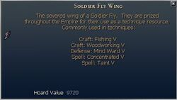 Soldier Fly Wing