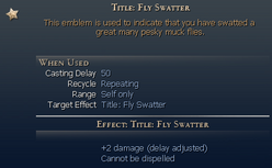 Title Fly Swatter