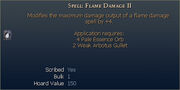 Spell Flame Damage II