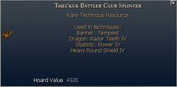 Thel'kuk Battler Club Splinter