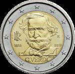 €2 Verdi 2013