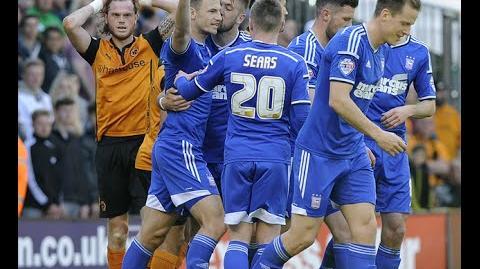 Wolves 1-1 Ipswich (2014-15 season)