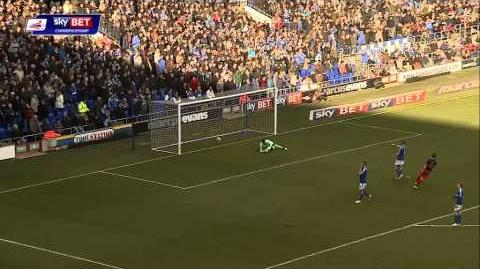 Ipswich 0-1 Reading (2014-15 season)