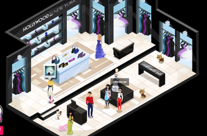 Fifth Avenue Hollywood in New York p.4 the store
