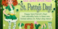 St. Patty's Day - March 14