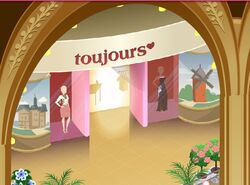 Toujours Store Front