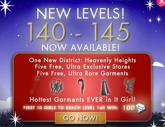 Levels 139 145 Promotion