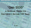 """""""Grid 2030"""": A National Vision for Electricity's Second 100 Years"""