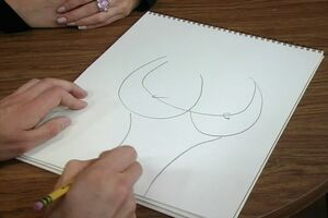 Dennis demonstrates his fantastic draw ability