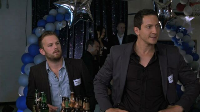 File:Caleb Followill & Sasha Roiz.jpg