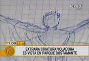 Mysterious manta man tv sketch