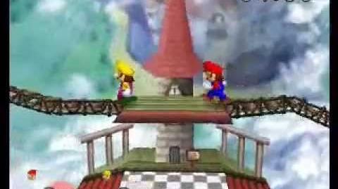 Super Mario 64 Bloopers Mario vs