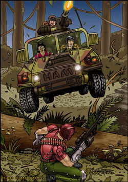 Jungle-humvee-redshirt-ham