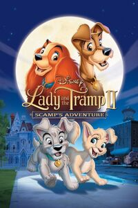 Lady and the Tramp II Scamp's Adventure poster