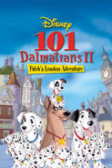 101 Damatians II Patch's London Adventure poster