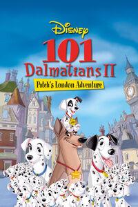 101 Damatians II Patch's London Adventure poster