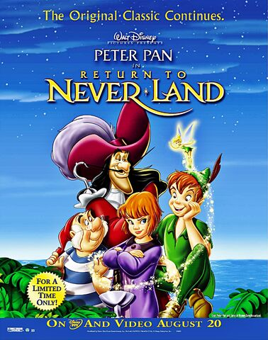 File:Return to Never Land DVD poster.jpg
