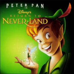 Return to Never Land soundtrack cover