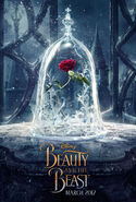 Beauty and the Beast 2017 teaser poster