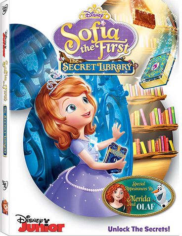 File:Sofia the First The Secret Library DVD.png