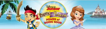 Disney Junior Pirate and Princess Summer Power of Doing Good