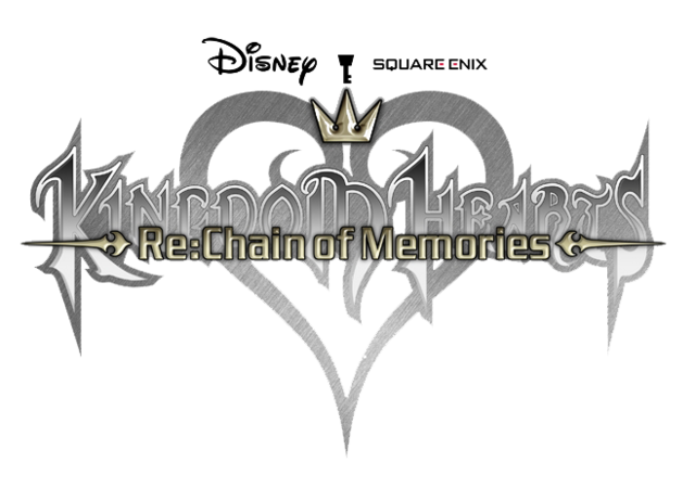File:Kingdom Hearts Re Chain of Memories logo.png