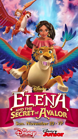 File:Elena and the Secret of Avalor poster.png