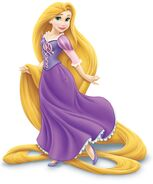 Rapunzel in her redesign