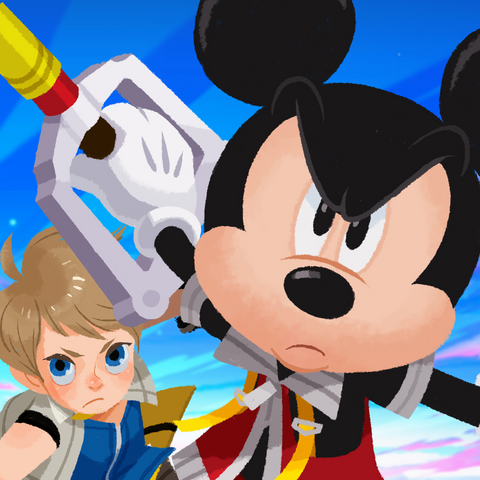 File:Kingdom Hearts Unchained X App Artwork.png