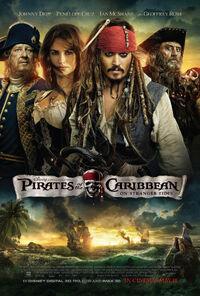 Pirates of the Caribbean On Stranger Tides poster