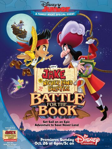 File:Jake and the Never Land Pirates Battle for the Book poster.jpg