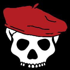File:Jackass beret logo.png