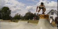 Skateboard Spin