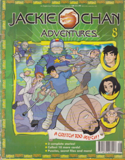 Jackie Chan Issue 8