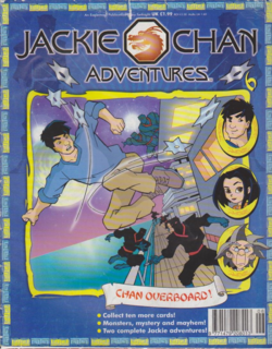Jackie Chan Issue 6