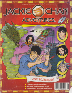 Jackie Chan Issue 5