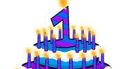 One Year Cake Hat