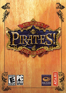 Sid Meier's Pirates! (2004) Coverart