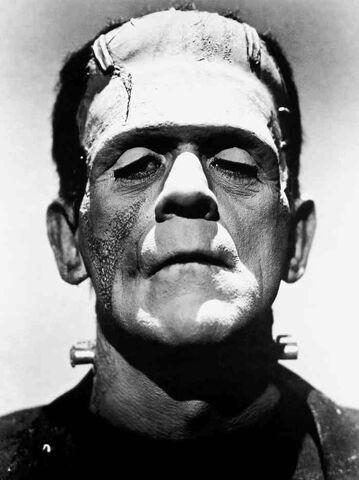 File:Frankenstein monster Boris Karloff.jpg