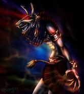 Seth god of chaos by egypt club