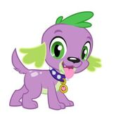 Spike as a Dog