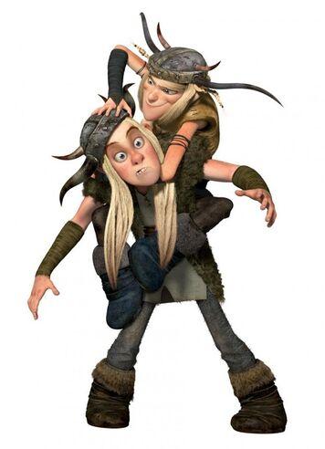 Un-immagine-promo-di-tuffnut-e-ruffnut-per-il-film-dragon-trainer-150840
