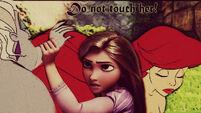 Rapunzel and ariel by venus mike adel leo-d5u10aq (1)
