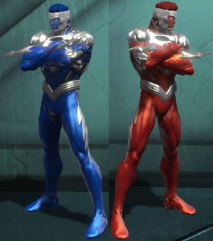 Superman blue and red dc universe online by macgyver75-d5e0r8q