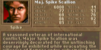 Maj. Spike Scallion